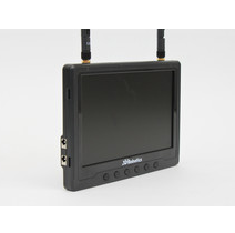 FlySight Black Pearl RC801 FPV Monitor and Diversity Receiver Image
