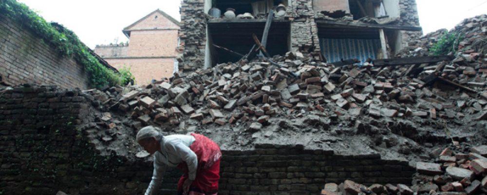 Drones show Nepal Devastation