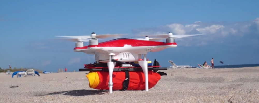 The Project Ryptide drone: Save lives in the ocean