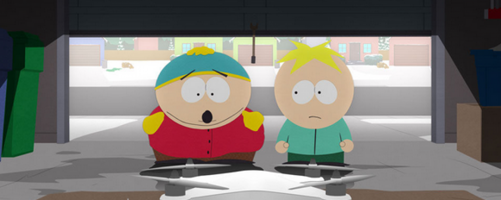 South Park to spoof Drones