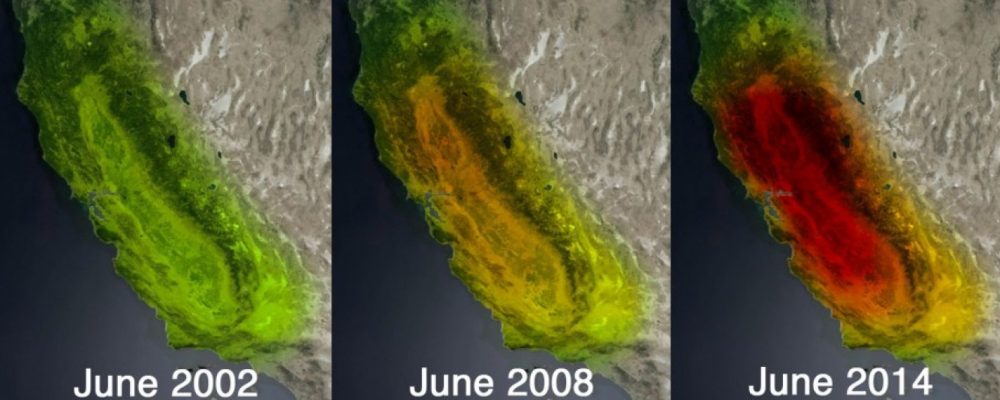 Drones and the California Drought